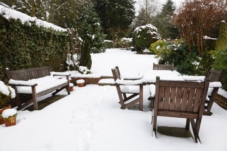 Image credit a href='httpwww.123rf.comphoto_15368788_suburban-snow-covered-patio-with-garden-furniture-garden-in-the-background.html'paulmaguire 123RF Stock Photoa